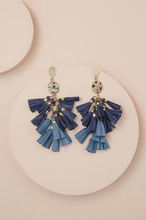 Tassel Chandelier Earrings