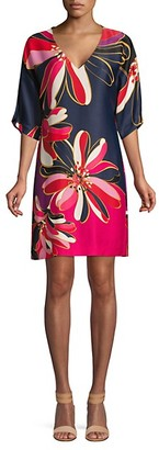 Trina Turk Liz Printed Shift Dress