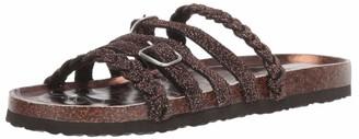 Muk Luks Women's Terri Terra Turf-Dark Copper Sandal 11 M US