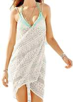 Mullsan women's swimsuit Cover Up and Spaghetti Strap Beach Dress