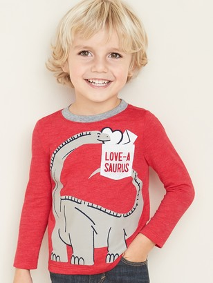 Old Navy Graphic Pocket Tee for Toddler Boys