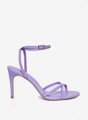 Dorothy Perkins Womens Lilac 'Safira' Strappy Heeled Sandals