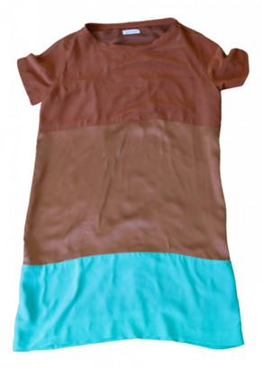 Masscob Multicolour Silk Dresses