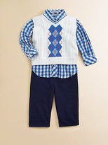 Hartstrings Infant's Argyle Sweater Vest