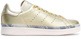 adidas Stan Smith New Bold Perforated Metallic Leather Sneakers