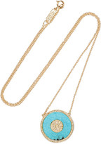 Jennifer Meyer Evil Eye 18-karat Gold, Turquoise And Diamond Necklace