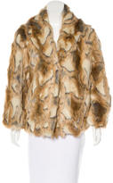 Rachel Zoe Faux Fur Jacket