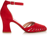Valentino Cut-out suede sandals