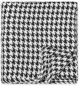 Melange Home Houndstooth Yarn-Dyed Blanket