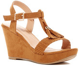 Top Moda Darron T-Strap Wedge Sandal