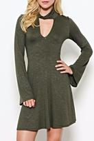 Solemio A-Line Knit Dress