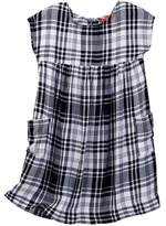 Joe Fresh Plaid Pocket Dress (Toddler & Little Girls)