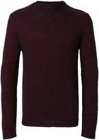 Giorgio Armani slim-fit jumper - men - Polyamide/Mohair/Virgin Wool - 48