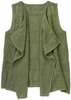Crazy 8 Crochet Sweater Vest