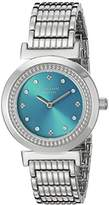 Johan Eric Women's JE1200-04-006B Djursland Analog Display Japanese Quartz Silver Watch