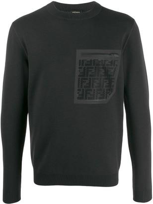 Fendi FF pocket jumper