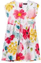 Catimini Floral Pleated Dress (Little Girls & Big Girls)