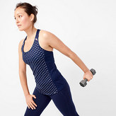 New Balance for J.Crew polka-dot cooling tank top