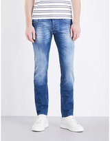 Armani Jeans J20 Slim-fit Straight Jeans