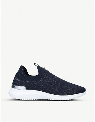 Selfridges Lifted knitted sock trainers