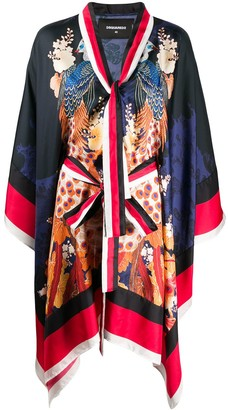 DSQUARED2 Japanese Print Kimono