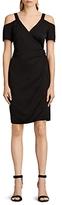 AllSaints Cadia Cold-Shoulder Dress