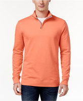 Club Room Men's Quarter-Zip Sweatshirt, Only at Macy's