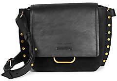 Isabel Marant Women's Klenny Leather Studded Crossbody Bag