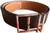 Hermes Brown Leather Belt