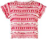 Sea woven tassel top - women - Silk/Cotton - S