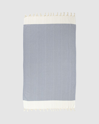 Tolu Australia - Women's Grey Towels - Candid Turkish Towel - Size One Size, 100cm at The Iconic