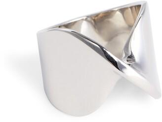 St. John Open Twist Metal Ring