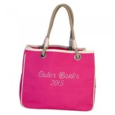 The Well Appointed House Rope Tote in Pink-Can Be Personalized