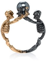Alexander McQueen Two-tone Skeleton Ring