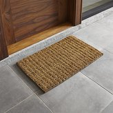"Crate & Barrel Knotted 30""x18"" Doormat"