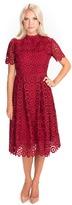 Rachel Parcell Bordeaux Lace Dress