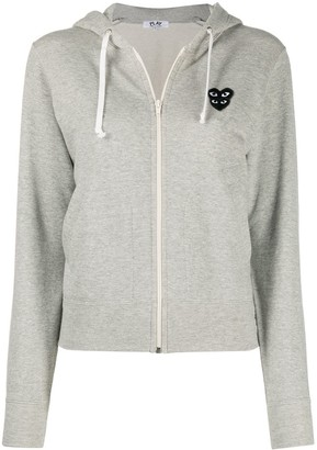 Comme des Garcons Overlapping Heart Hoodie