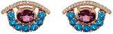 Ileana Makri Women's Mixed-Gemstone Eye Stud Earrings