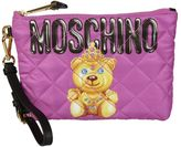 Moschino Crowned Bear Clutch