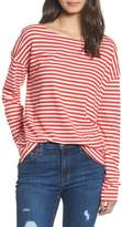 Current/Elliott Women's Classic Fit Breton Stripe T-Shirt
