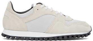 Spalwart White Marathon Trail Low Sneakers