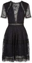 Nicholas Lace Panelled Dress