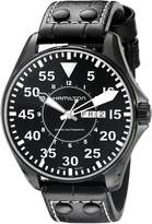 Hamilton Men's H64785835 Khaki King Pilot Dial Watch