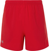 Under Armour Qualifier 5 Shell Tennis Shorts - Red