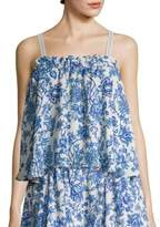 Suri Shirred Front Slim-Fit Camisole