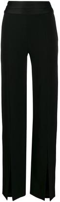 Jonathan Simkhai Tuxedo wide leg trousers