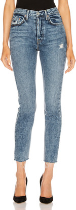 GRLFRND Karolina High Rise Skinny in Almost Gone | FWRD