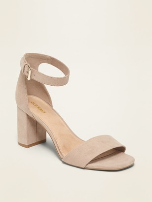 Old Navy Faux-Suede High-Heel Sandals for Women