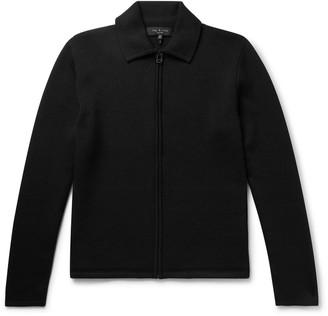 Rag & Bone Merino Wool-Blend Zip-Up Cardigan