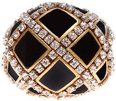 Juicy couture Black Inlay Cocktail Ring